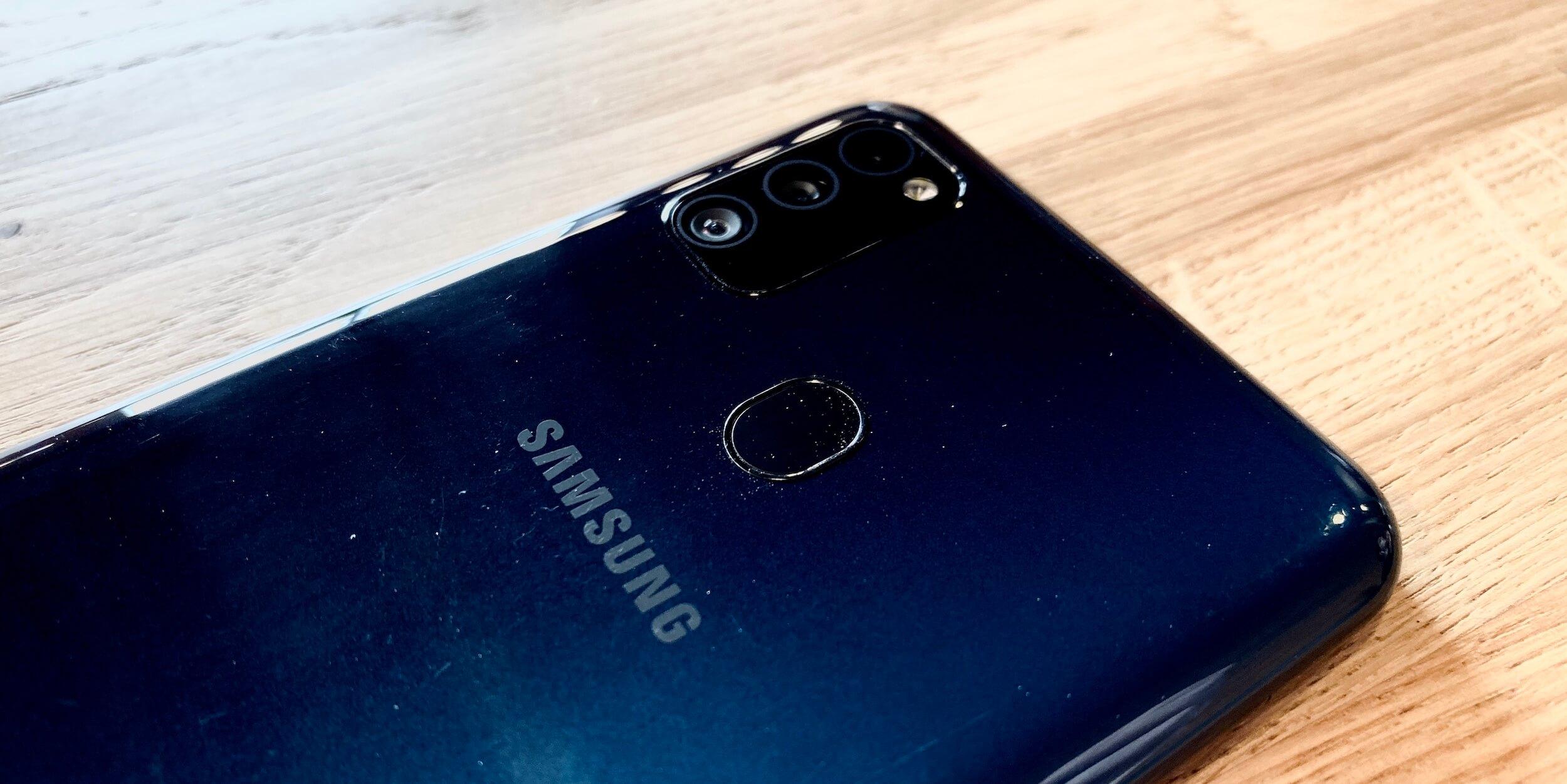 Samsung Galaxy M30s: Задняя панель