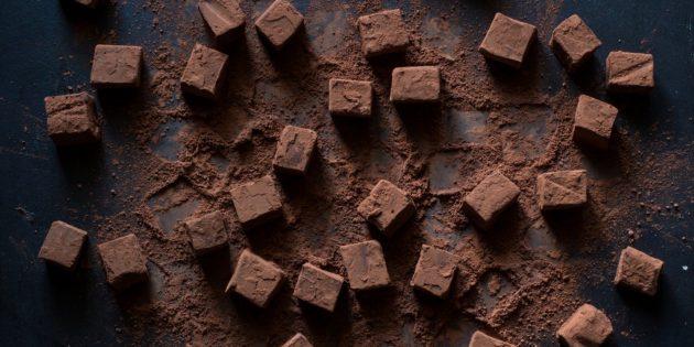Сливочно-шоколадная помадка