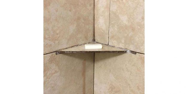ремонтные работы: плитка вместо полки