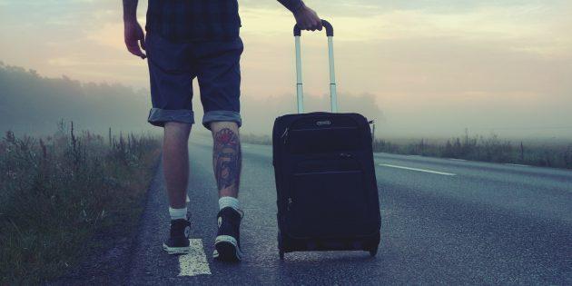 переехать за границу