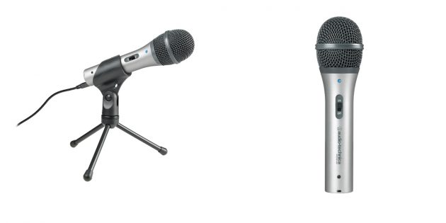 Что подарить на Новый год меломану: микрофон Audio-Technica ATR2100-USB