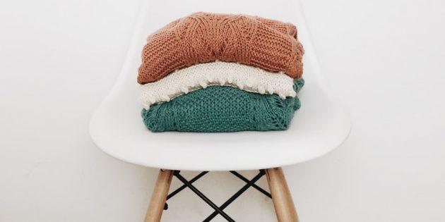 3 способа сделать колючий шерстяной свитер мягким