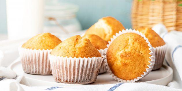 Как приготовить творожные кексы с апельсиновой цедрой: простой рецепт
