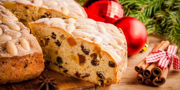 Лучшие рецепты кексов: кекс с сухофруктами и миндалём
