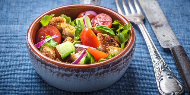 Как приготовить салат «Панцанелла»
