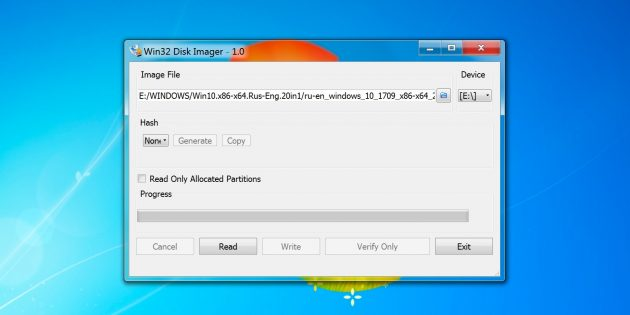 Win32Disk Imager