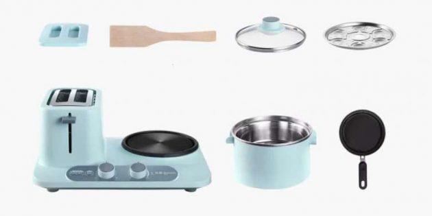 Xiaomi выпустила многофункциональное устройство для приготовления завтраков