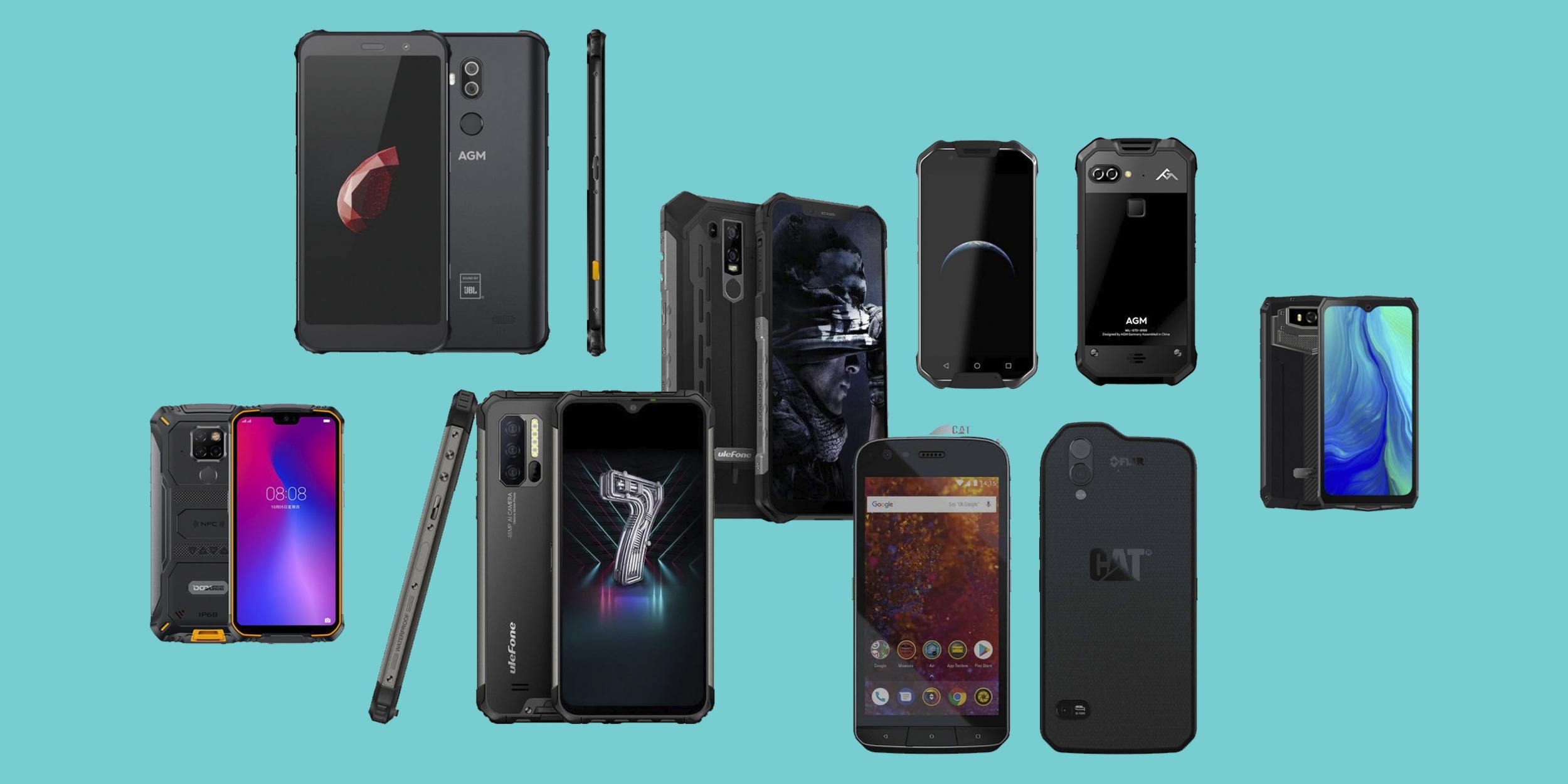10 неубиваемых смартфонов, которые можно ронять и держать в воде