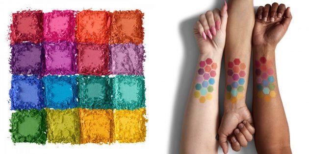 Что подарить девушке на Новый год: палетки косметики