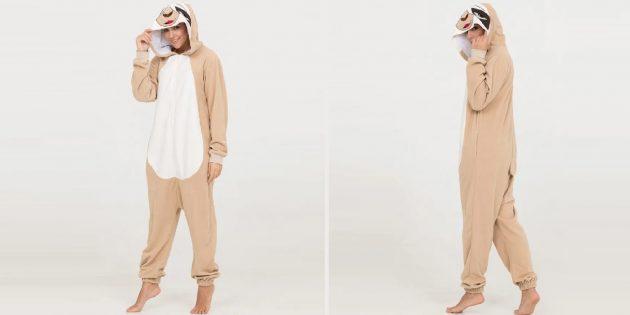 Подарки девушке на Новый год: пижама кигуруми