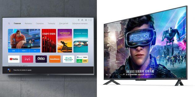 Новинки Xiaomi 2019года: Mi TV 4S