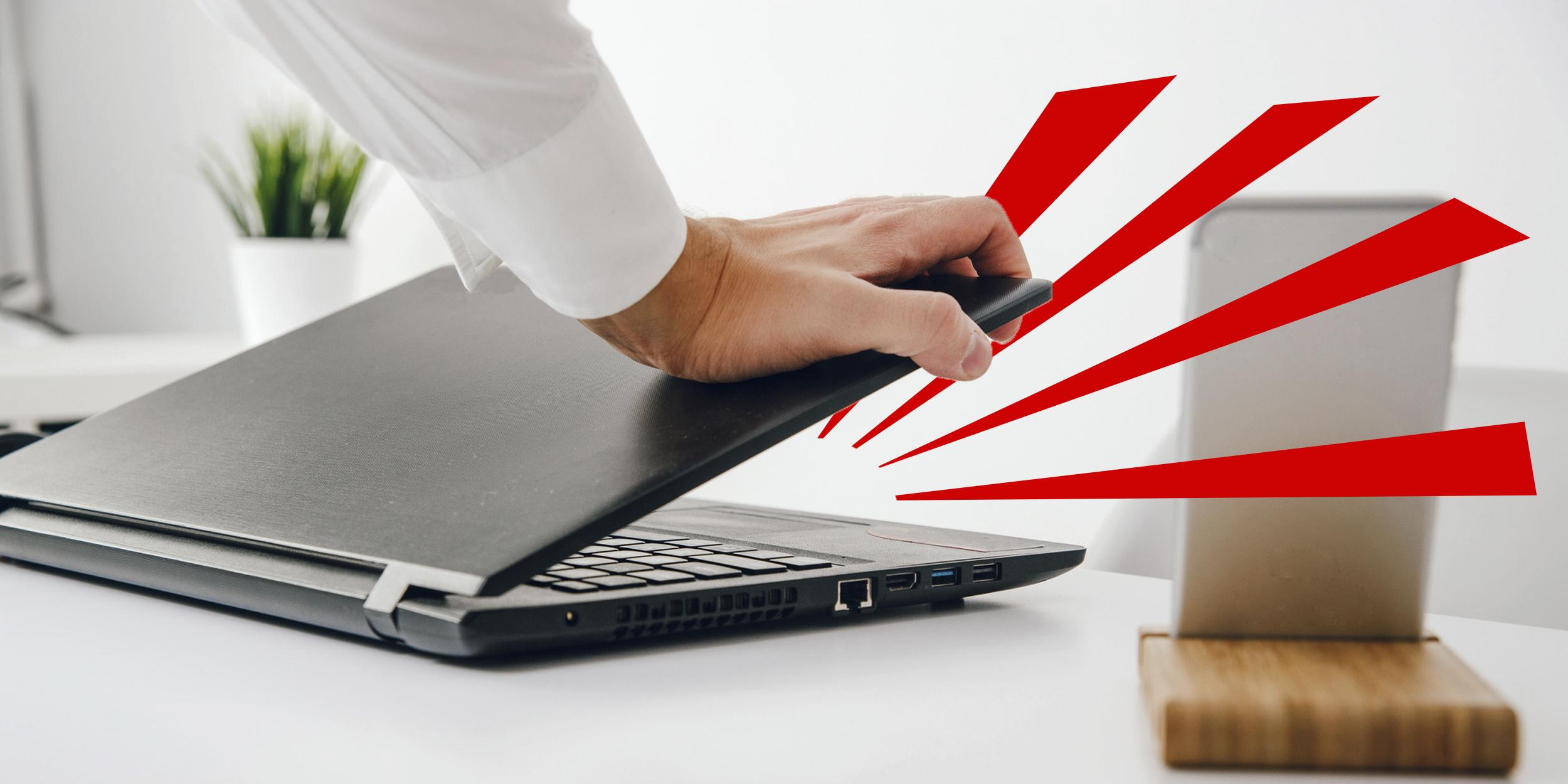 15 вредных привычек, способных убить ваш ноутбук