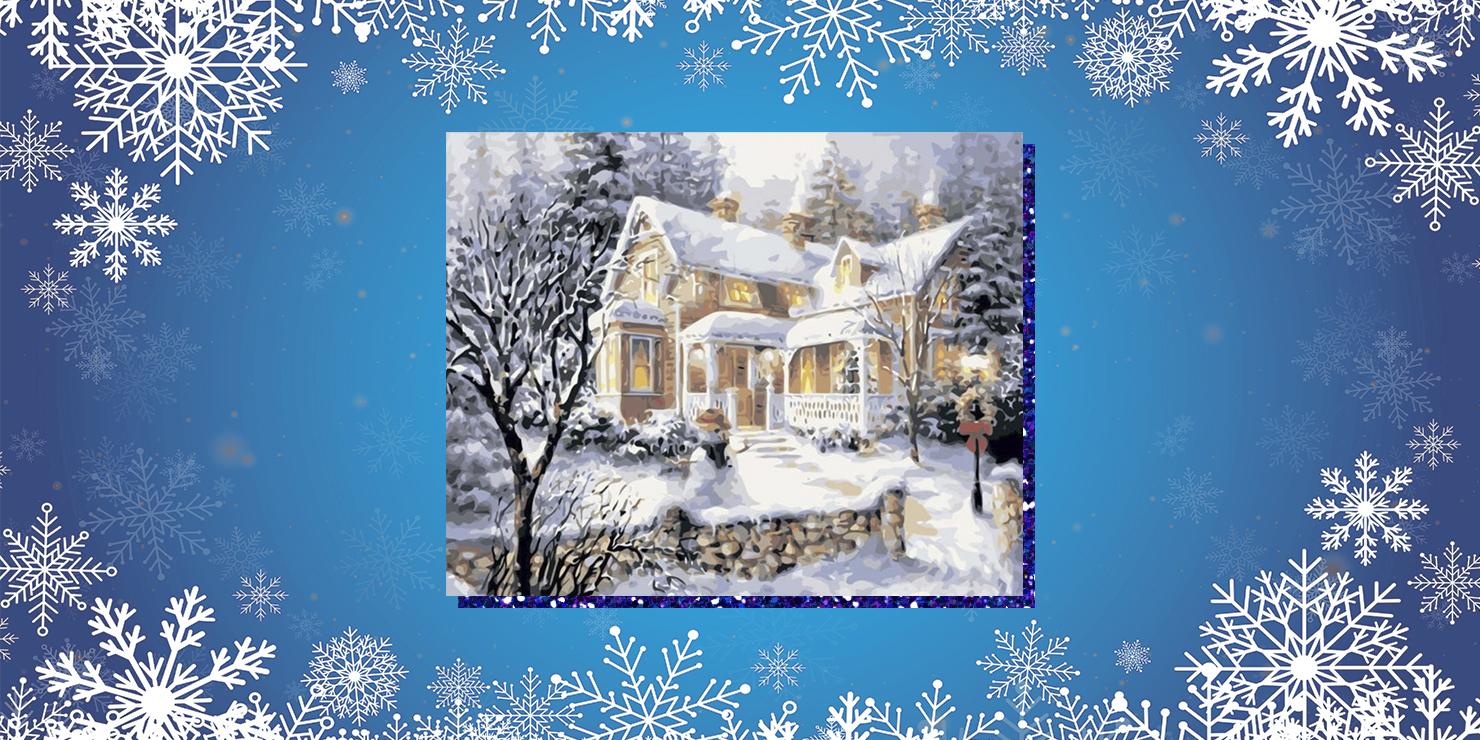 Подарки для семьи: картина по номерам