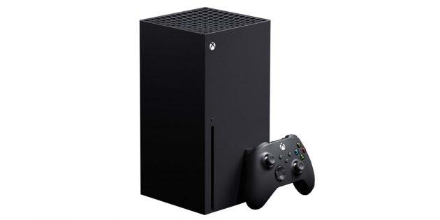 Гаджеты в подарок к Новому году: Microsoft Xbox Series X