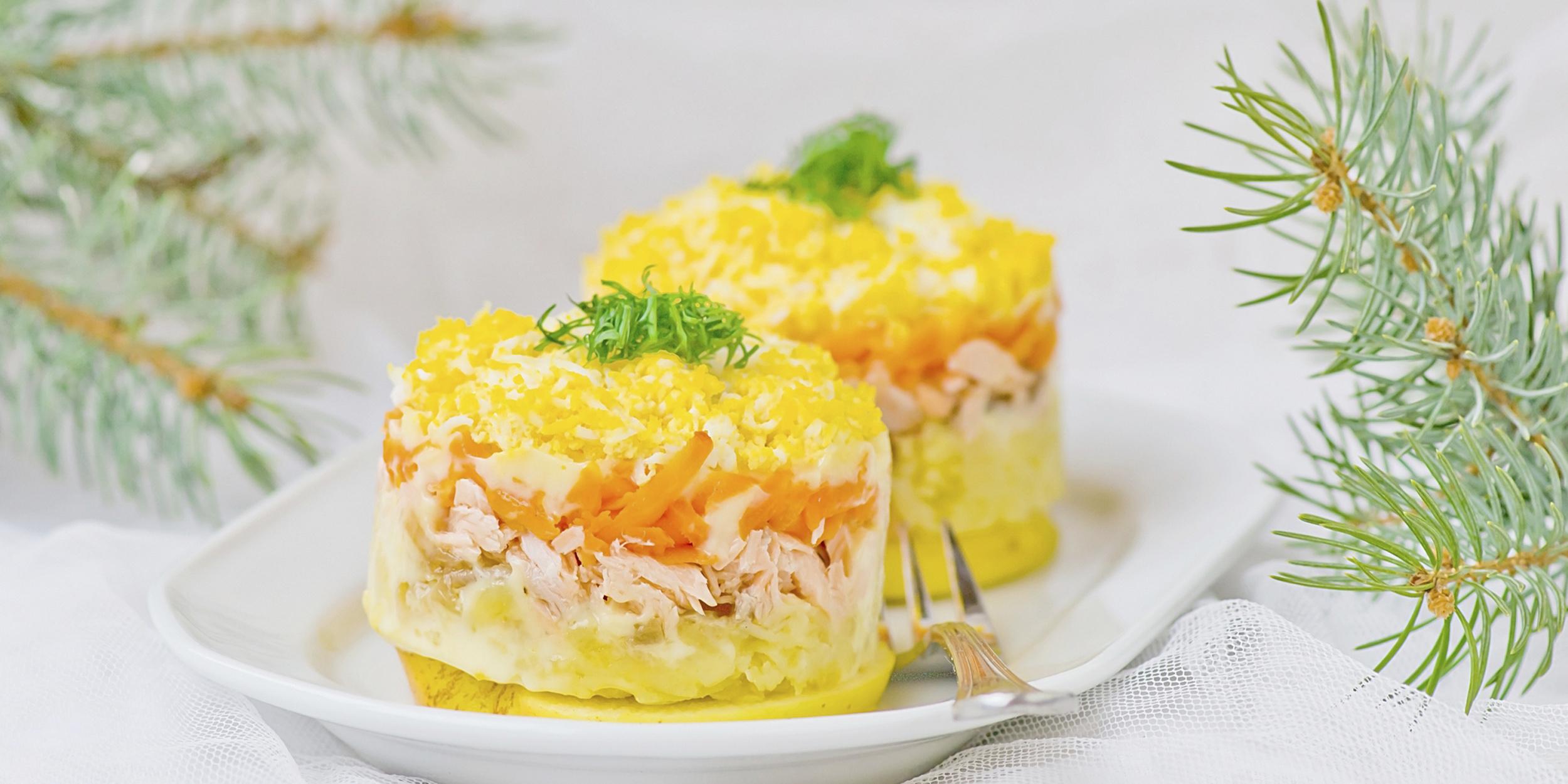 5 лучших рецептов салата «Мимоза»