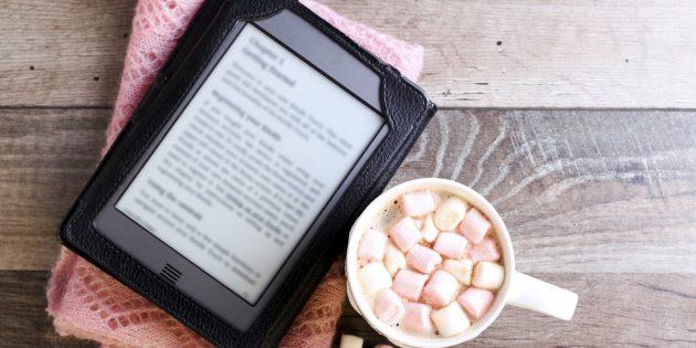 Полезные подарки на Новый год: электронная книга