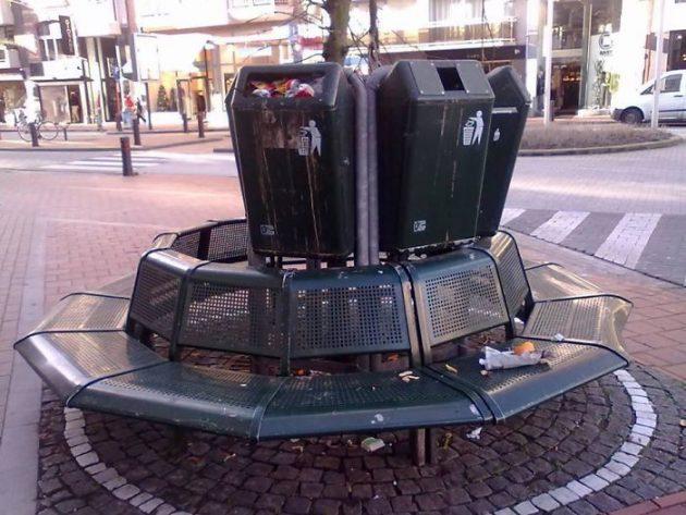ужасный дизайн на улице
