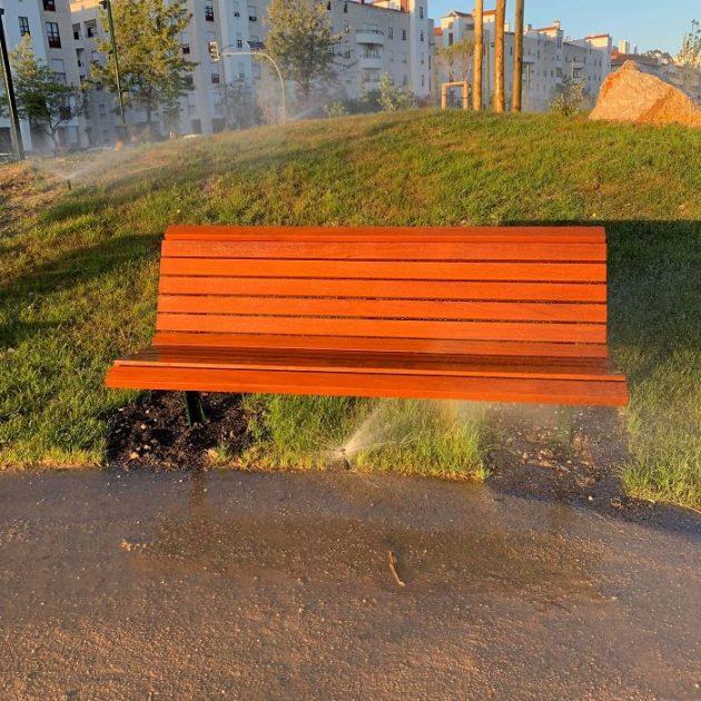 ужасный дизайн в парке
