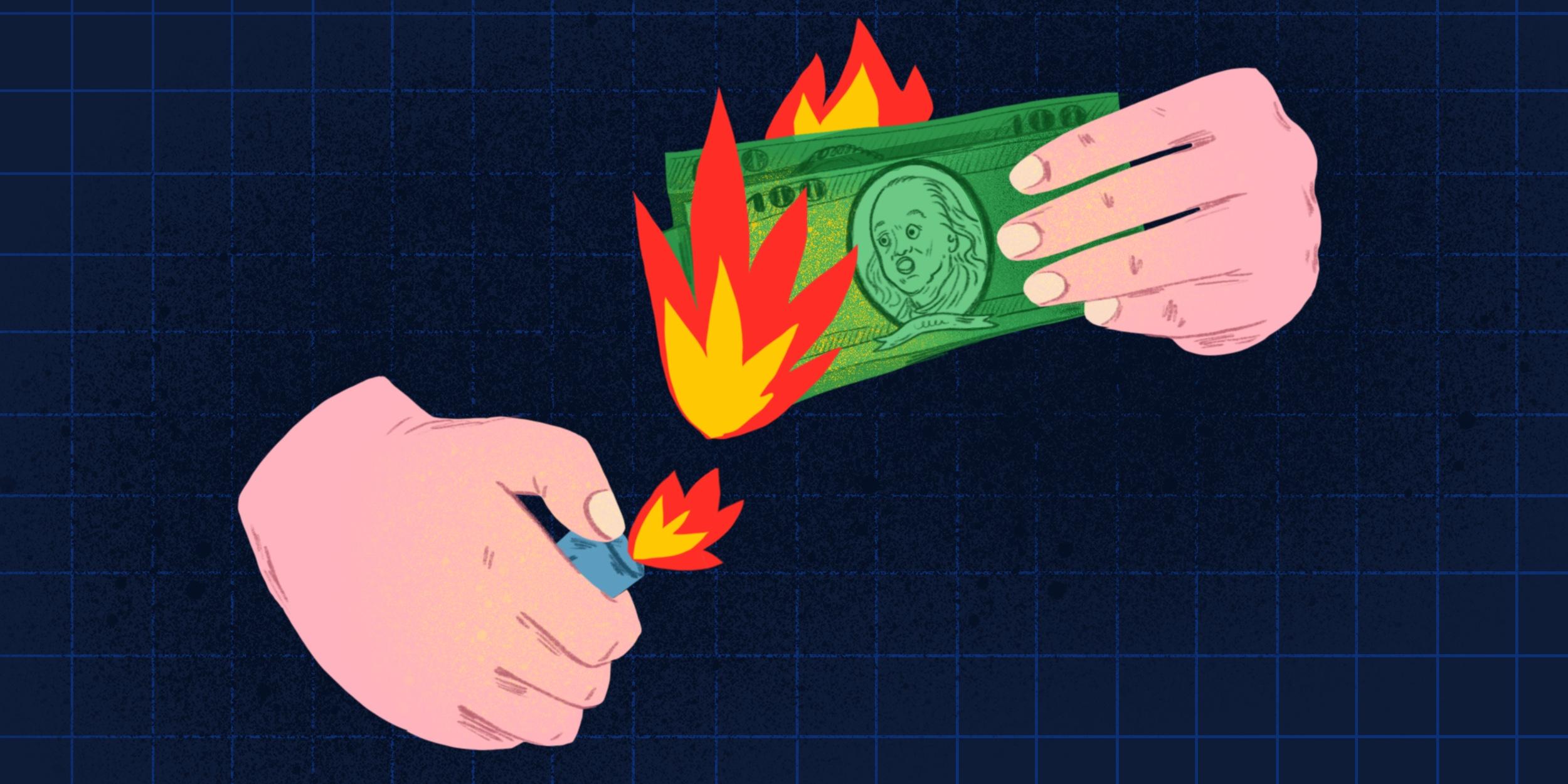 8 способов потерять деньги, даже не понимая этого
