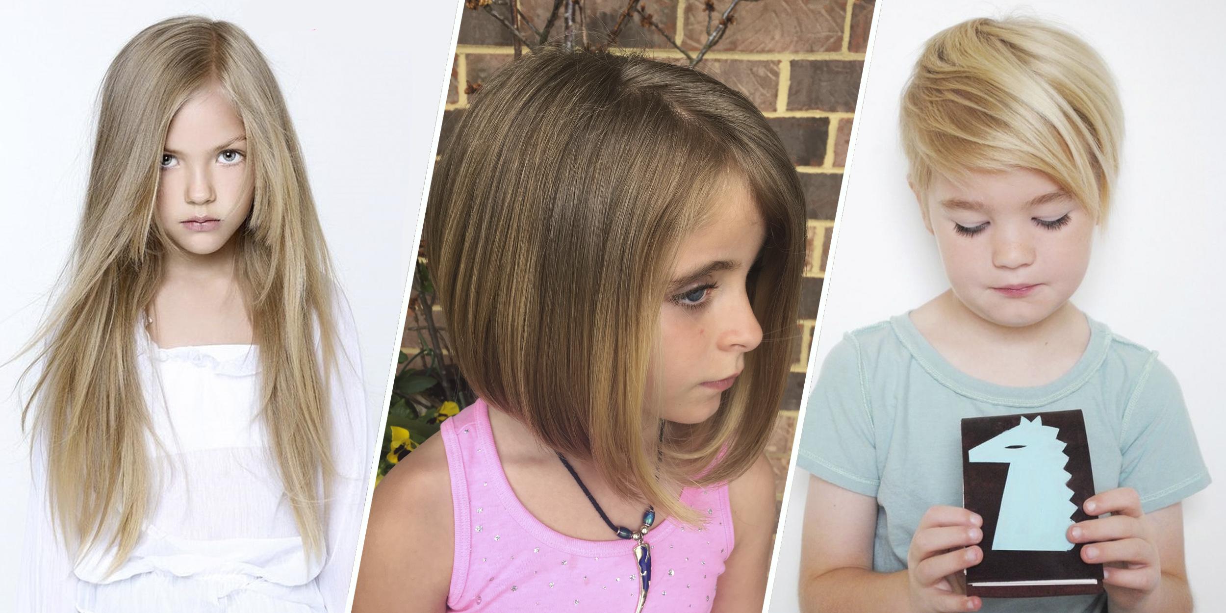 7 самых модных стрижек для девочек