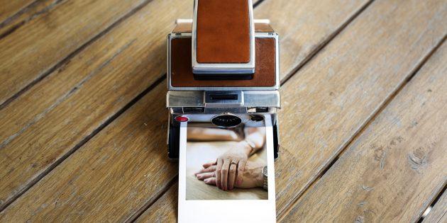 Полезные подарки на Новый год: фотоаппарат моментальной печати
