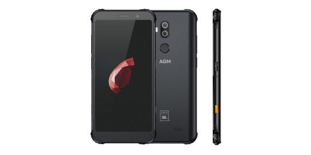 Неубиваемый смартфон AGM X3