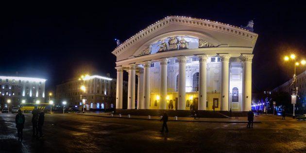 Объекты, объединяющие города России: драматический театр