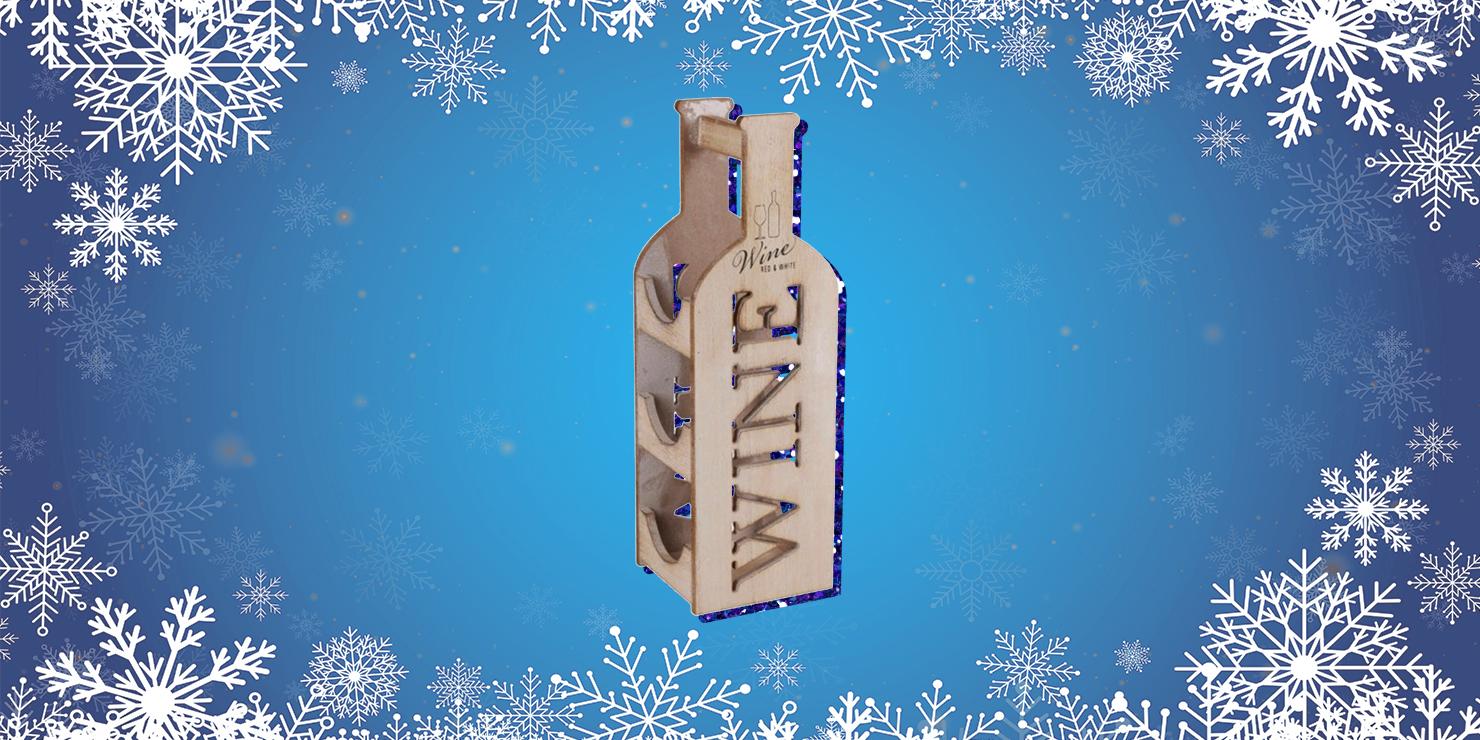 Подарки для семьи: винная стойка