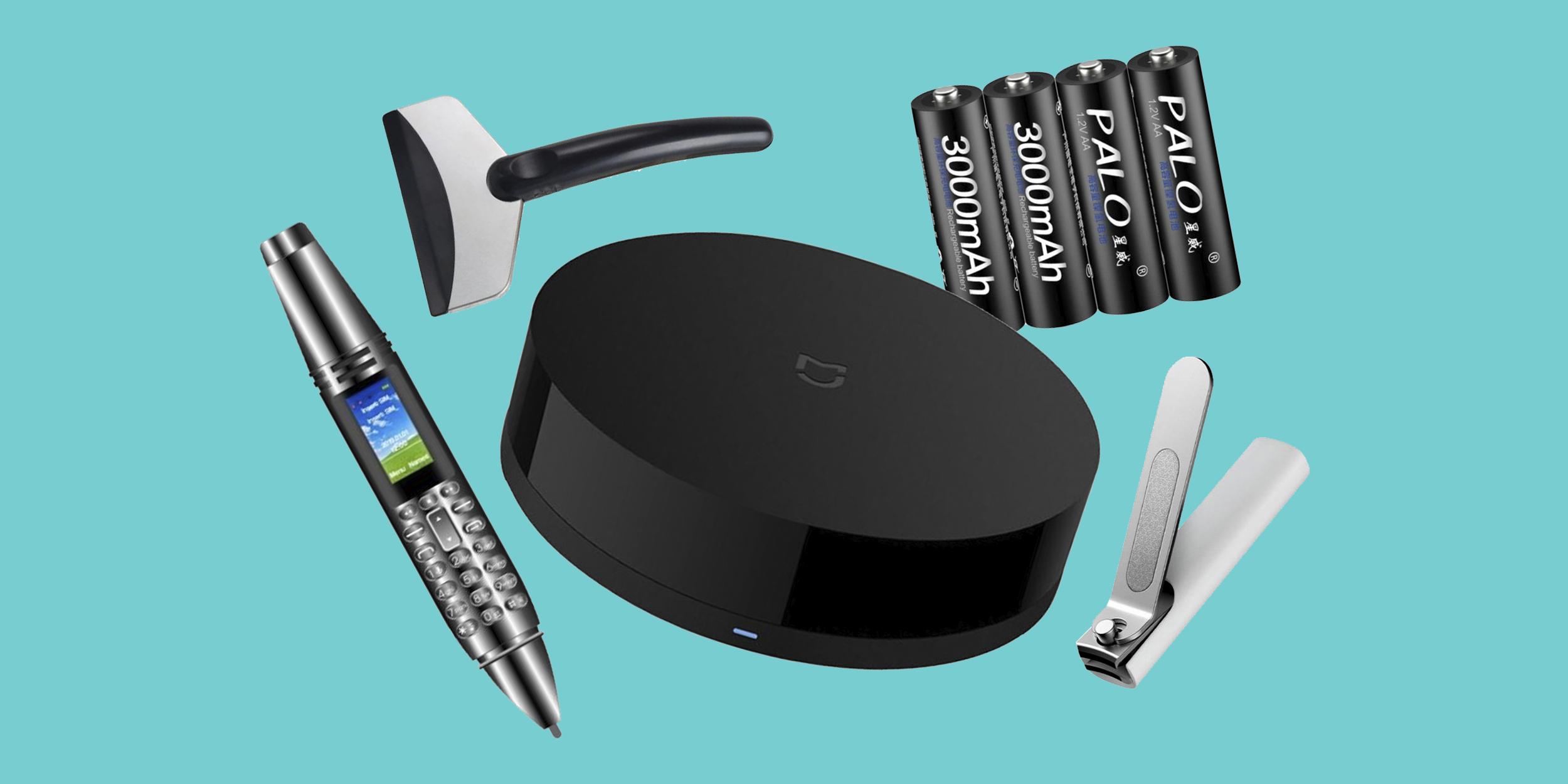 Находки AliExpress: аккумуляторные батарейки, ручка-смартфон, очки Морфеуса