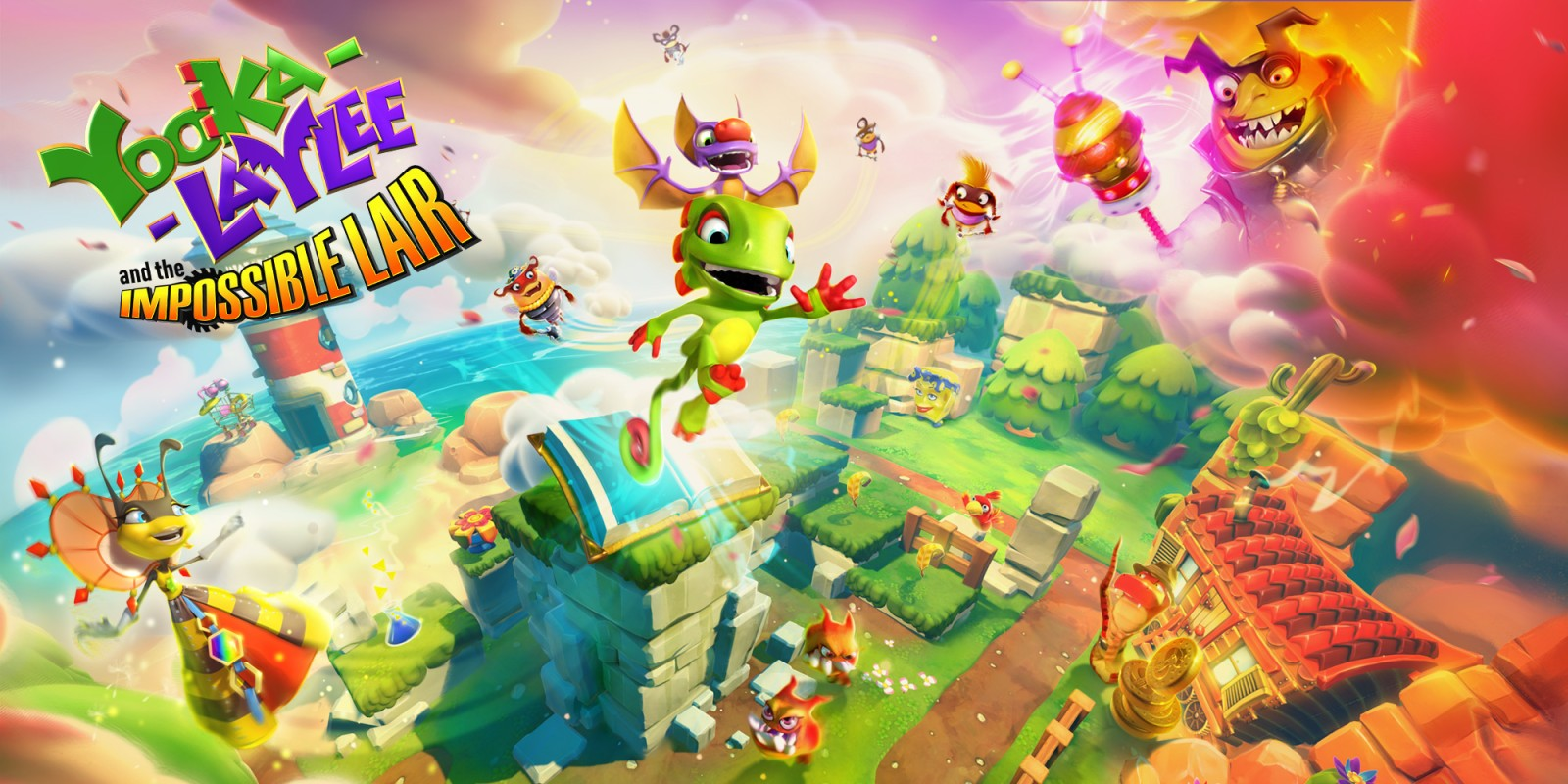 Epic Games Store раздаёт отличный платформер Yooka-Laylee and the Impossible Lair