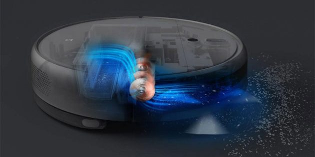 моющий робот пылесос Xiaomi