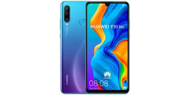 какой смартфон купить: Huawei P30Lite