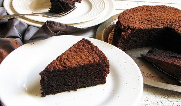 Ленивый шоколадный пирог