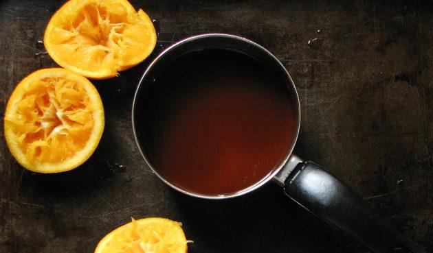 Соус барбекю с апельсинами и горчицей