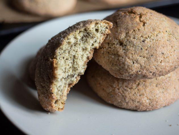 Печенье с чайными листьями