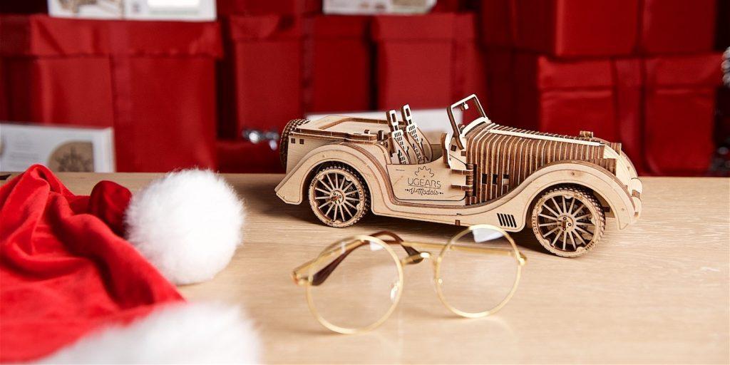 Необычные гаджеты: деревянный 3D-пазл UGEARS