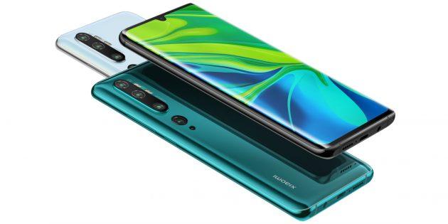 Цена дня: Xiaomi Mi Note 10 за 29 990 рублей в «М.Видео»