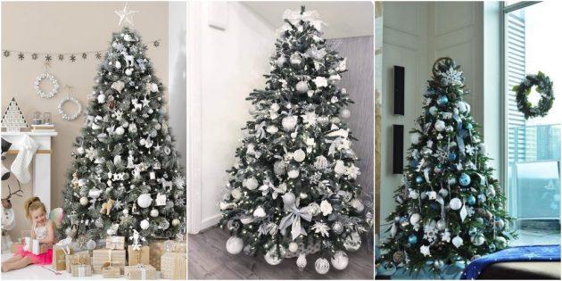 как украсить новогоднюю ёлку