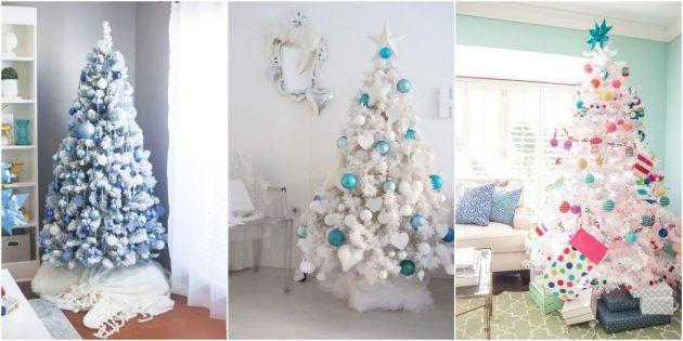 как украсить ёлку на новый год