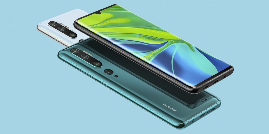 Цена дня: Xiaomi Mi Note 10 за 27 991 рубль в «Связном»