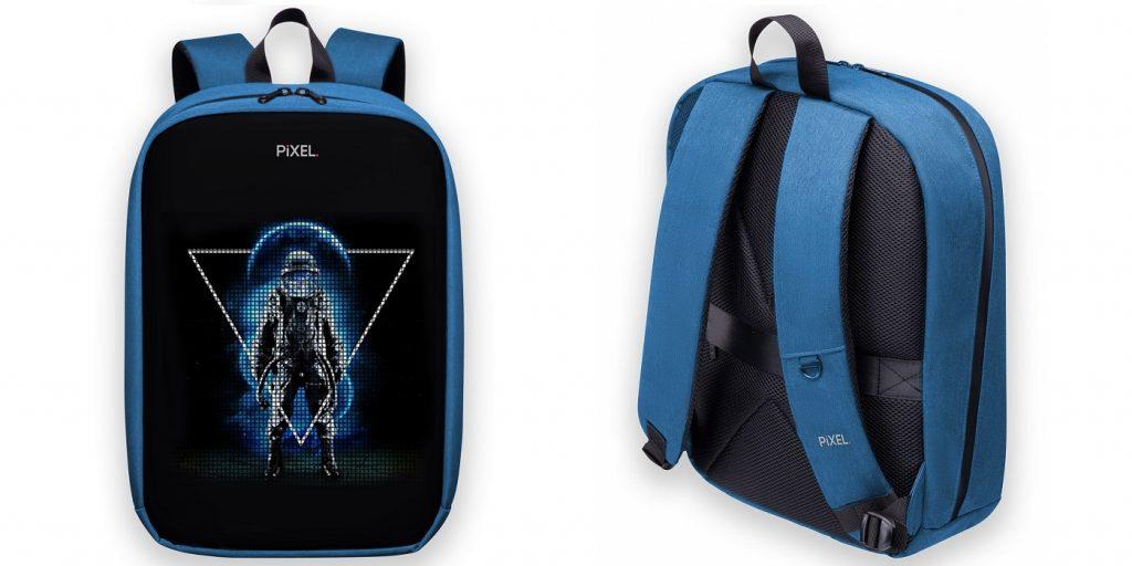 Необычные гаджеты: рюкзак с LED-дисплеем PIXEL MAX