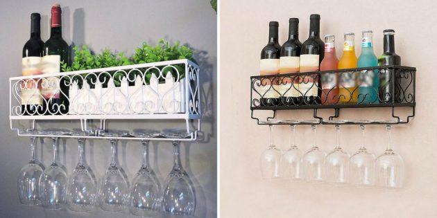 Аксессуары для вина: подставка для бутылок