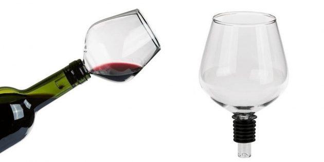 Бокал для бутылки вина