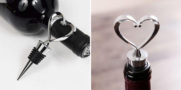 Аксессуары для вина: металлическая пробка