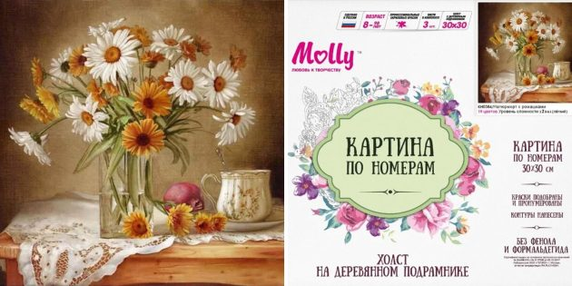 Картина по номерам Molly
