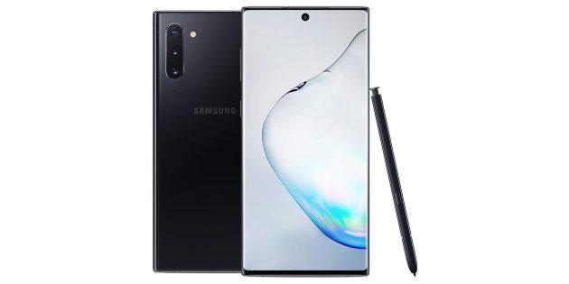 Samsung Galaxy Note 10 и Galaxy Note 10+