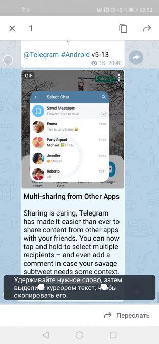 Telegram 5.13