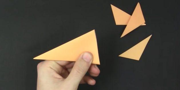 как сделать снежинки из бумаги своими руками: отрежьте лишнее