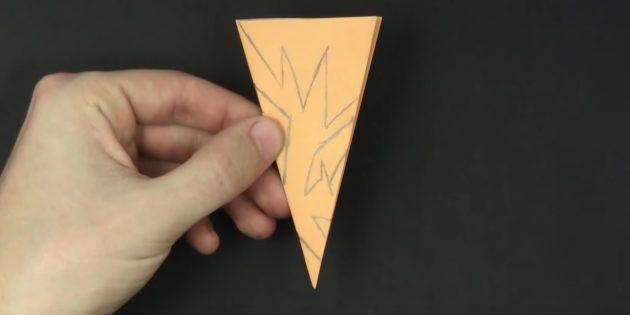 как вырезать снежинки из бумаги своими руками: нарисуйте узор