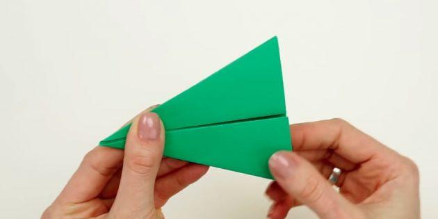 ёлка своими руками: сделайте треугольник
